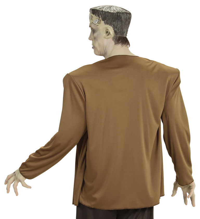 MENS/HALLOWEEN/MONSTER COSTUME (coat with shirt headpiece)