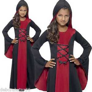 GIRLS/HALLOWEEN/Vamp Costume, Red & Black