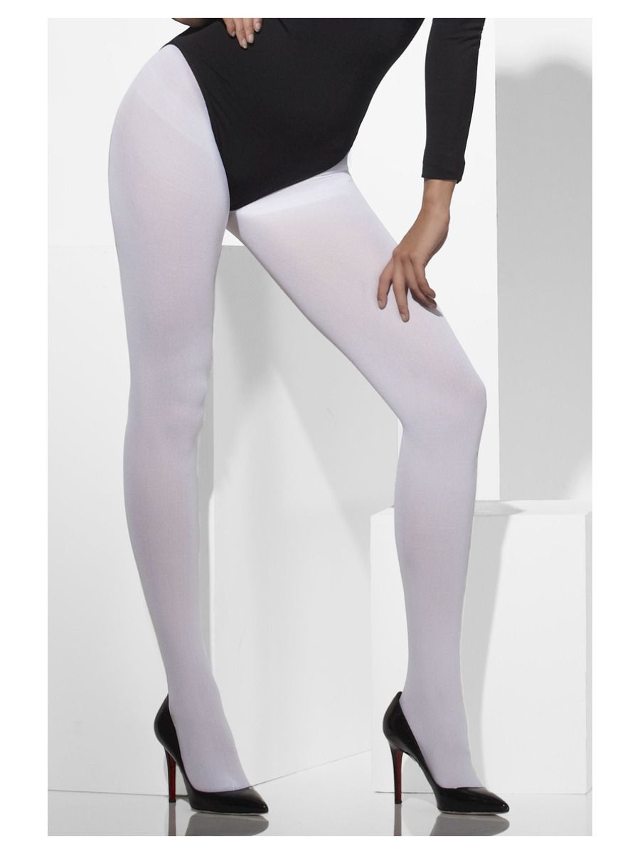 ACCESSORIES/TIGHTS & STOCKINGS/Opaque Tights, White