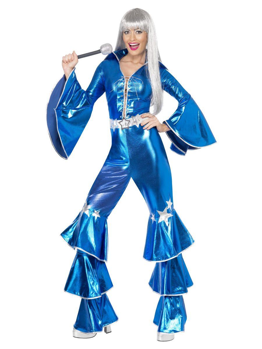 WOMAN/DECADES/1970'S/1970s Dancing Dream Costume, Blue