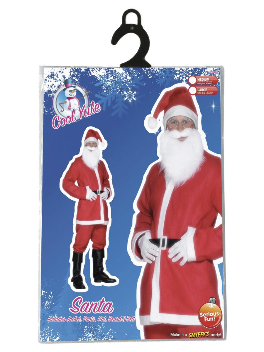 MENS/CHRISTMAS/Santa Suit Costume, Red