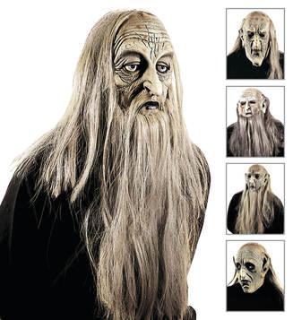ACCESSORIES/HALLOWEEN/MASKS/ MILLENARIAN MAN MASK WITH HAIR