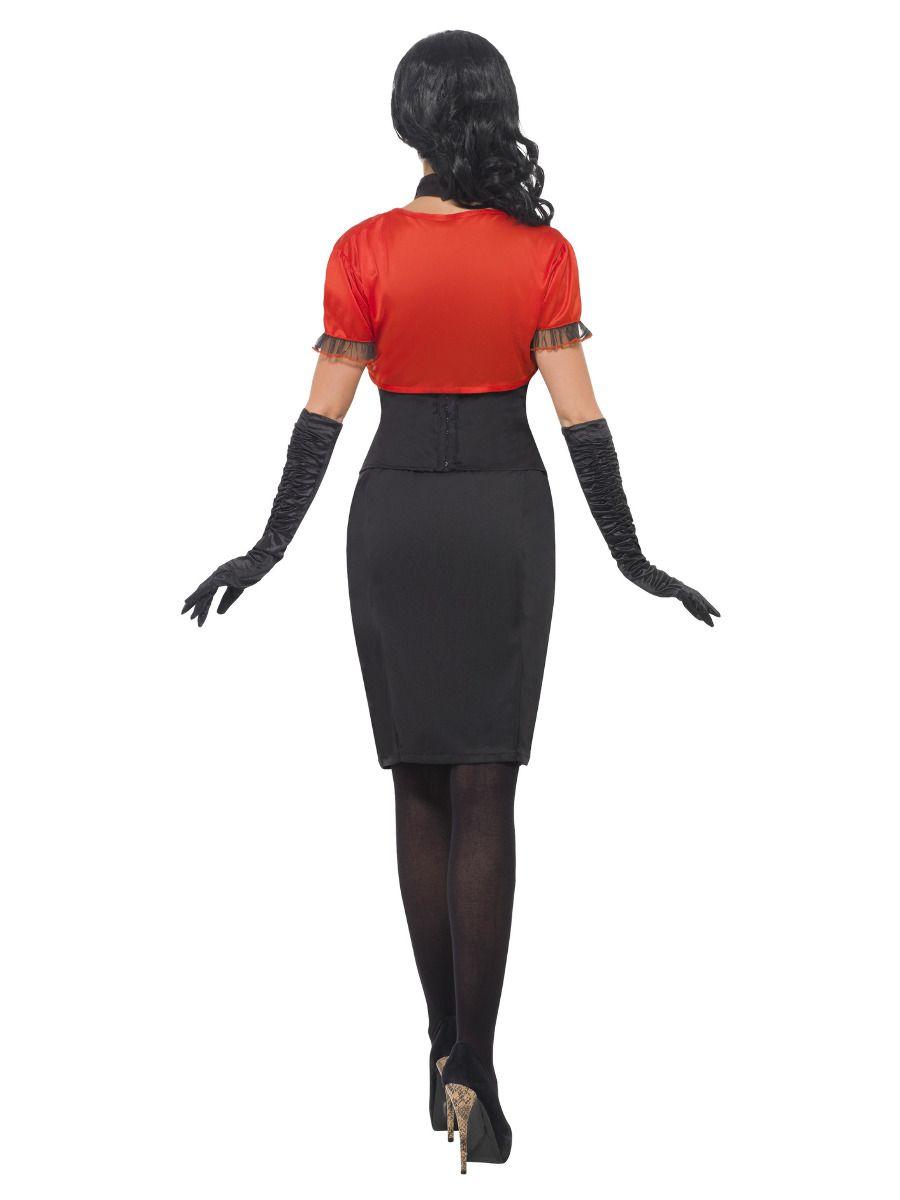 WOMAN/HALLOWEEN/ Beautiful Bones Costume, Black