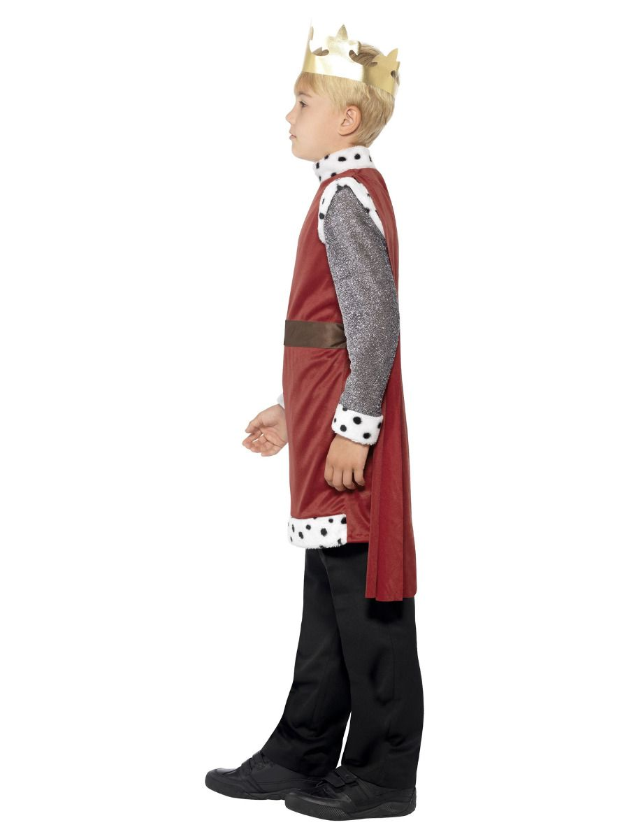 BOYS/HISTORY/King Arthur Medieval Costume, Red