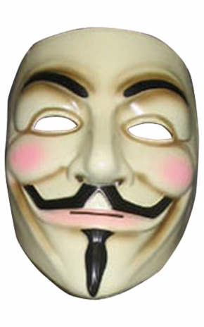 ACCESSORIES/HALLOWEEN/MASKS/ GUY FAWKES MASK