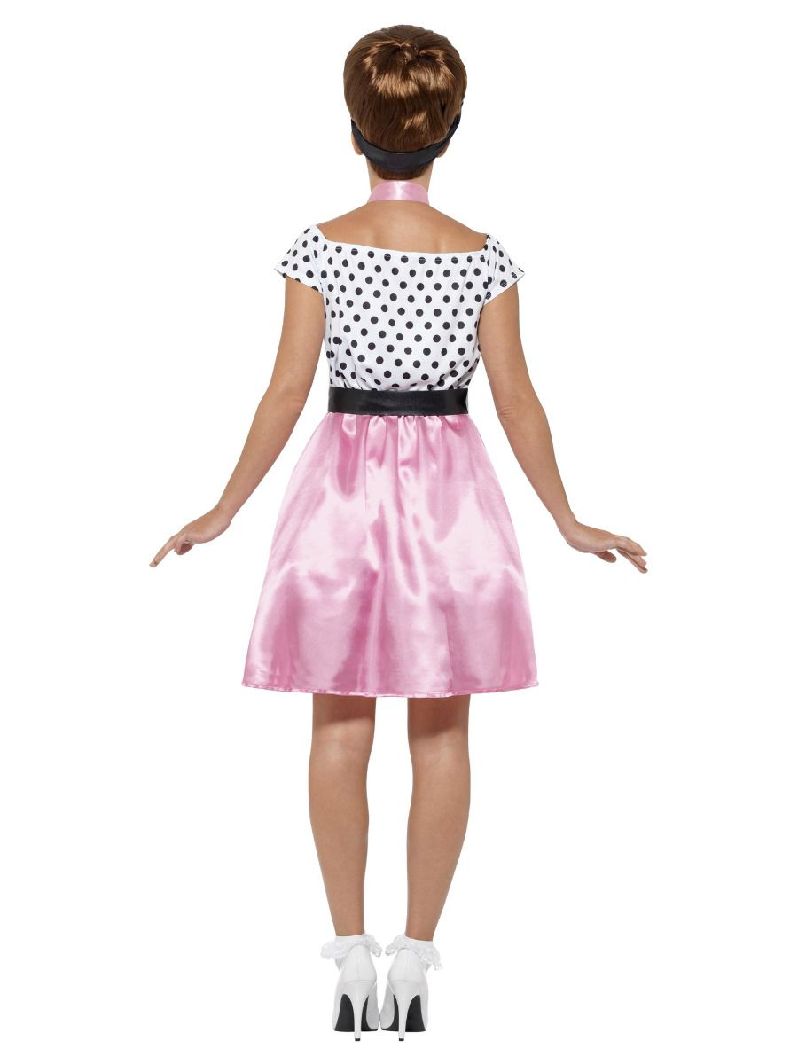 WOMAN/DECADES/1950'S/50s Rock 'n' Roll Costume, Pink