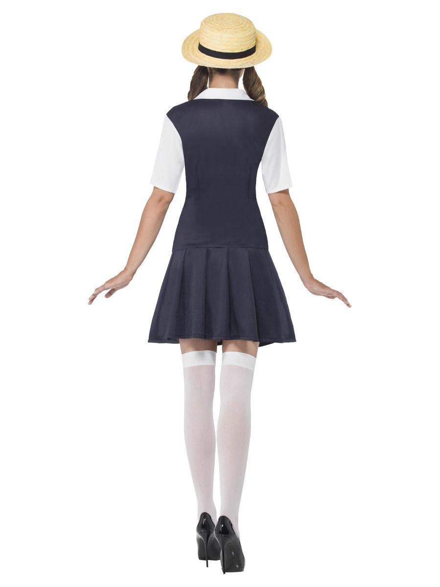 WOMAN/UNIFORMS/School Girl Costume, Black