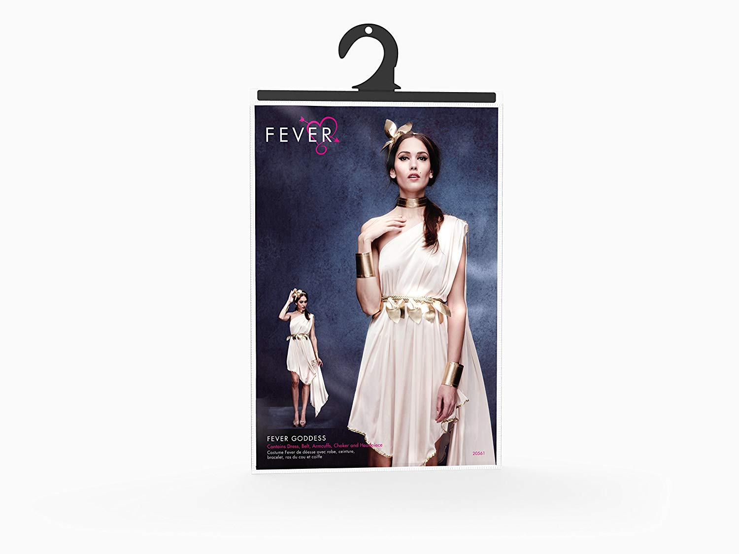 WOMAN/HISTORY/Fever Goddess Costume, Cream