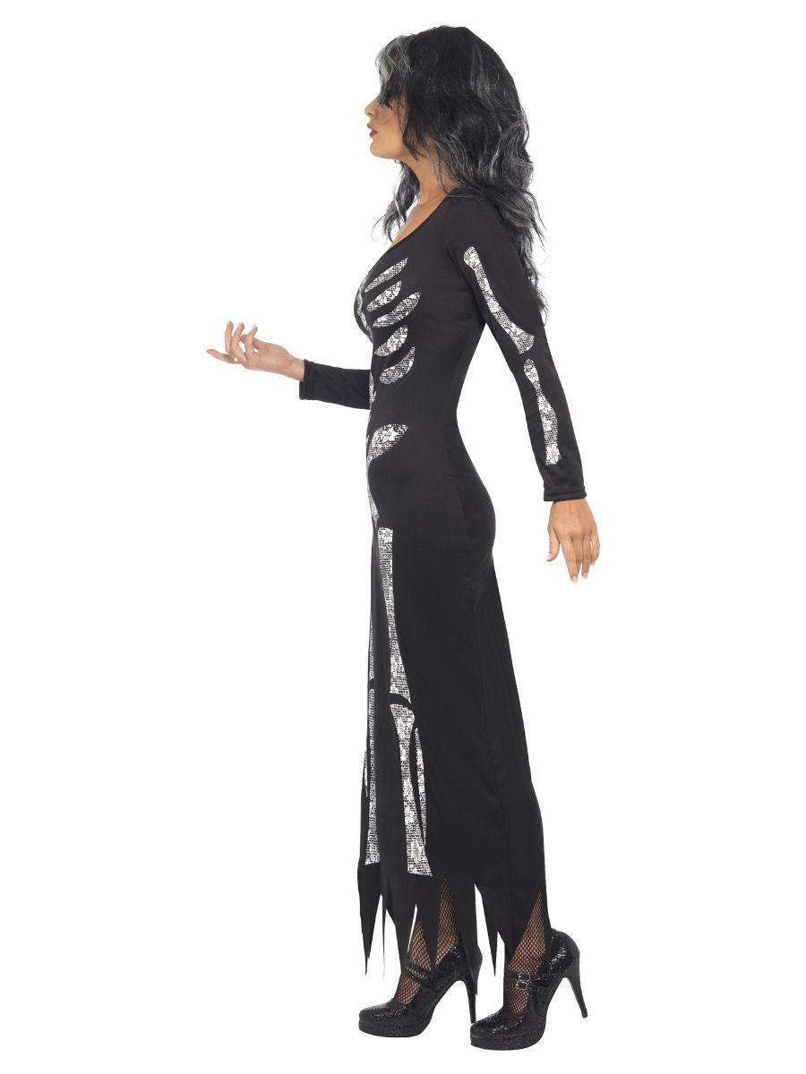WOMAN/HALLOWEEN/Skeleton Costume, Black