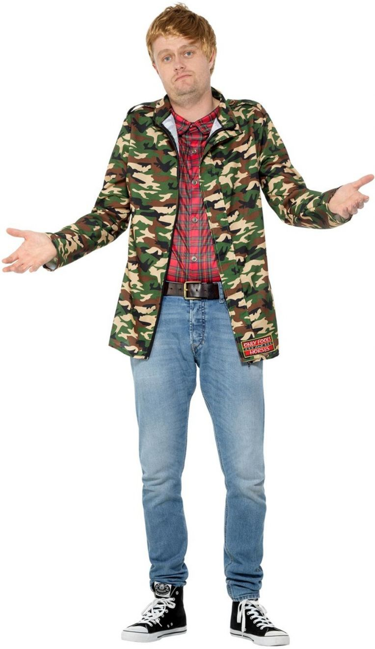 MENS/COMEDY/Only Fools and Horses, Rodney Costume, Camouflage