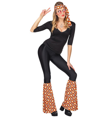 ACCESSORIES/LEG WARMERS & BOOT COVERS/70S GROOVY   LEG WARMERS AND HEADBAND SET