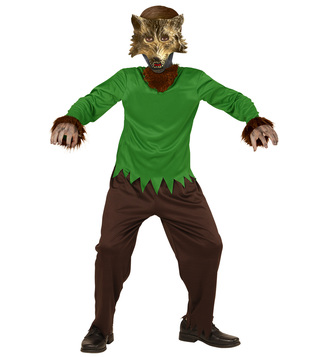 BOYS/HALLOWEEN/WEREWOLF (overall mask) Childrens