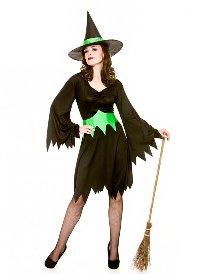 WOMAN/HALLOWEEN/ WICKED WITCH COSTUME