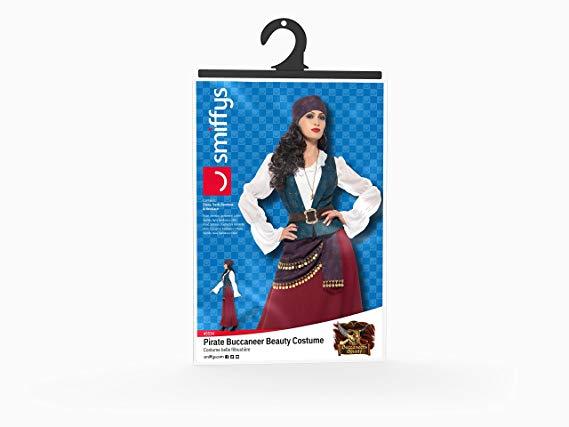 WOMAN/PIRATES/Deluxe Pirate Buccaneer Beauty Costume, Purple
