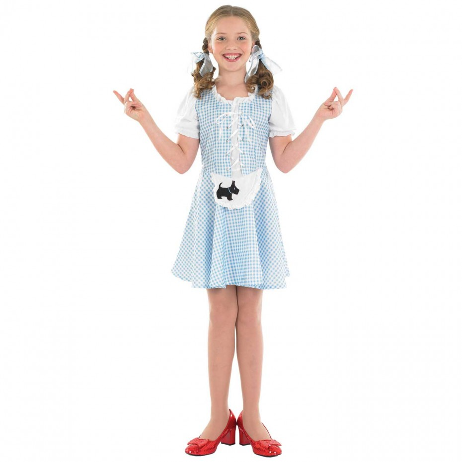 GIRLS/FAIRYTALE/ KIDS DOROTHY COSTUME