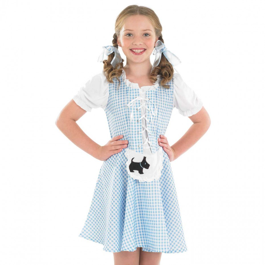 GIRLS/FAIRYTALE/ KIDS DOROTHY COSTUME