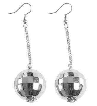 ACCESSORIES/JEWELLERY/ DISCO BALL EARRINGS