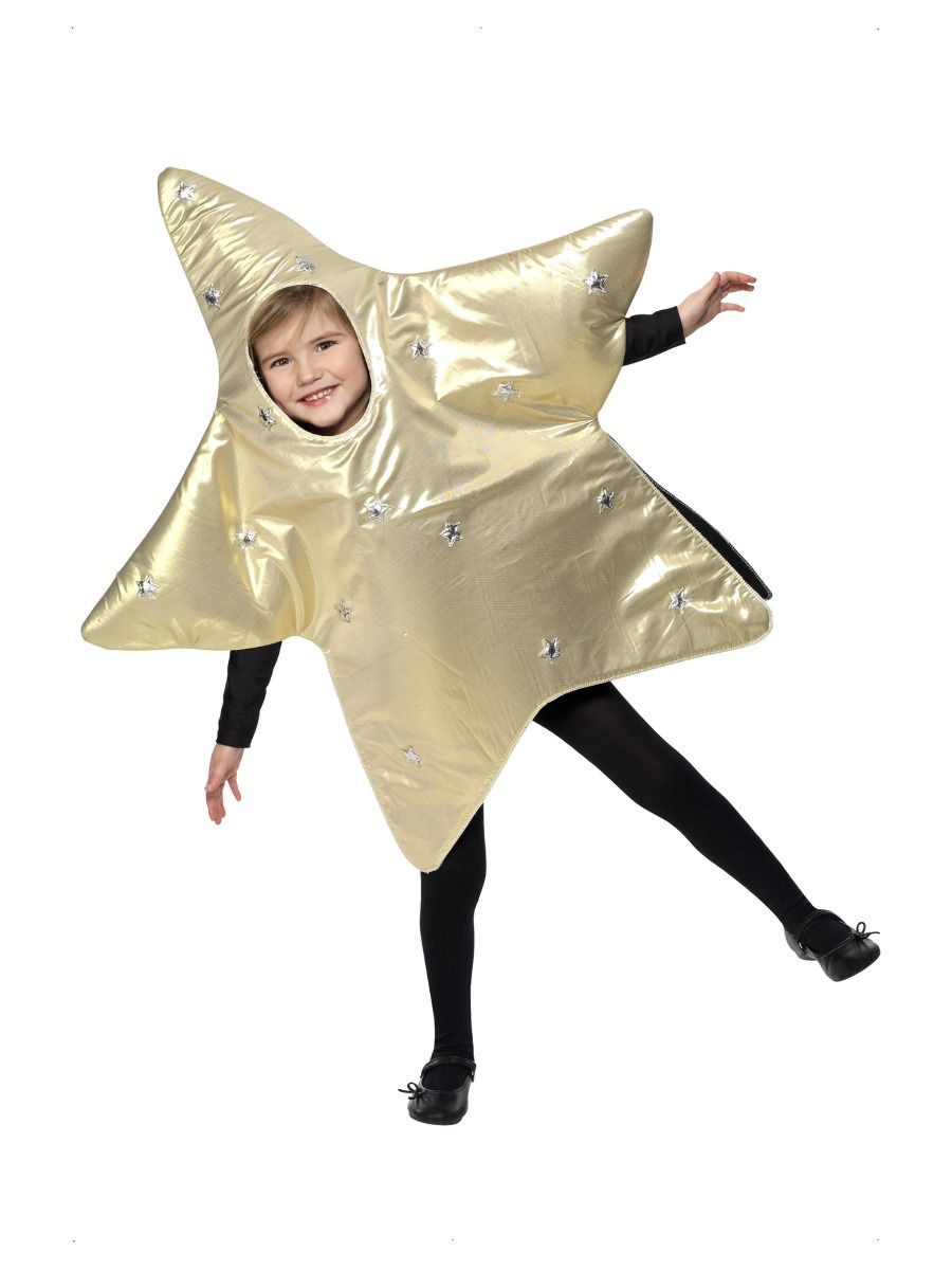 BOYS/CHRISTMAS/Christmas Star Costume, Gold