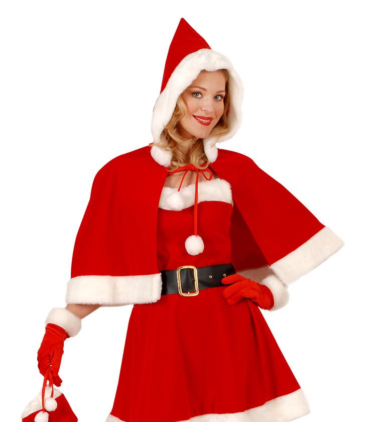 ACCESSORIES/CHRISTMAS/SANTA CLAUS GLOVES WITH PLUSH TRIM