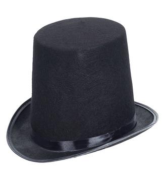 ACCESSORIES/HATS & HEADBANDS/FELT EXTRA TALL TOP HAT 20cm