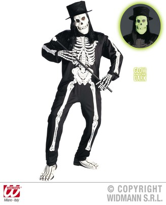 MENS/HALLOWEEN/CHIC SKELETON