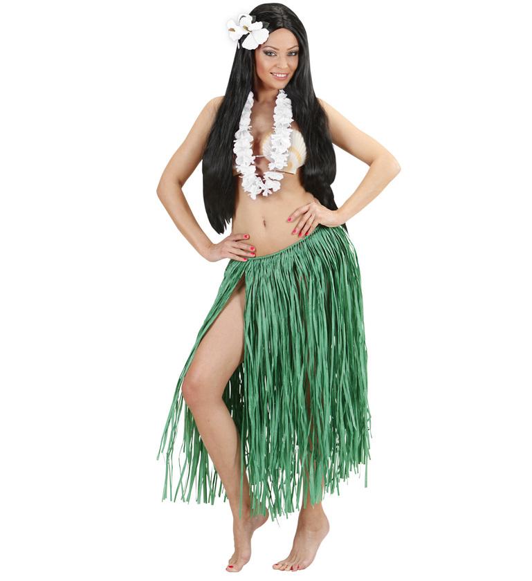 ACCESSORIES/PROPS/WHITE HAWAIIAN LEIS (40 FLOWERS OF 2 PETALS / DIAM 6.5cm)