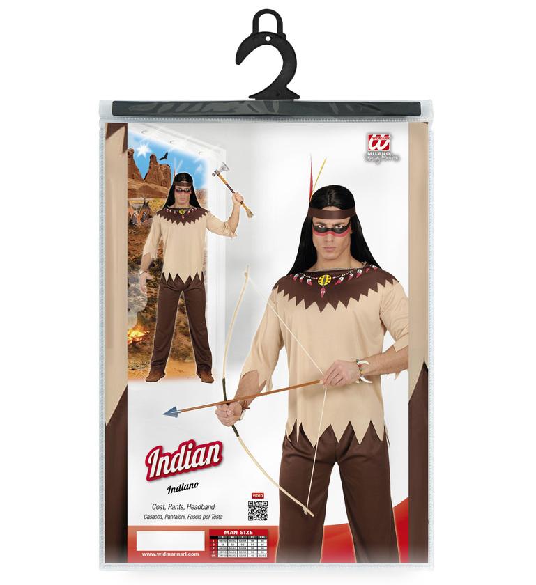 MENS/COWBOYS & INDIANS/INDIAN (coat pants headband)