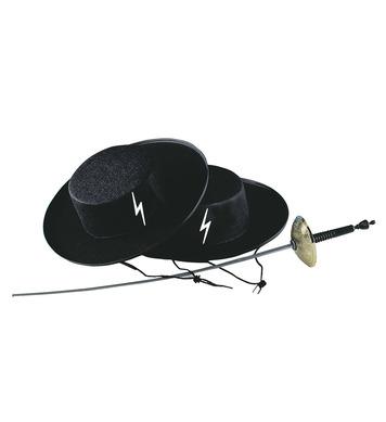 ACCESSORIES/HATS & HEADBANDS/ZORRO