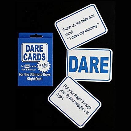 ACCESSORIES/HENS & STAGS/DARE CARDS MEN