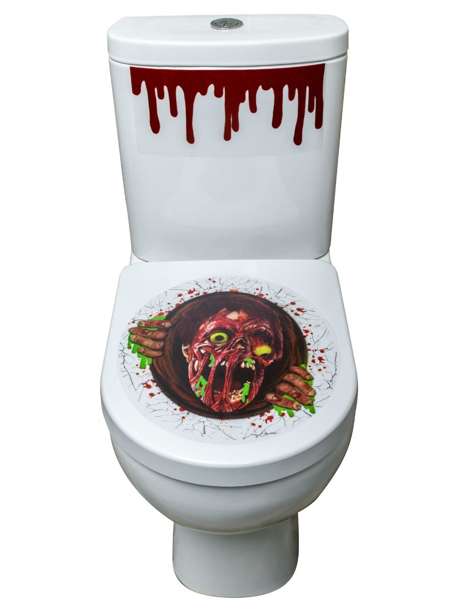 ACCESSORIES/HALLOWEEN/PROPS/ZOMBIE TOILET STICKER