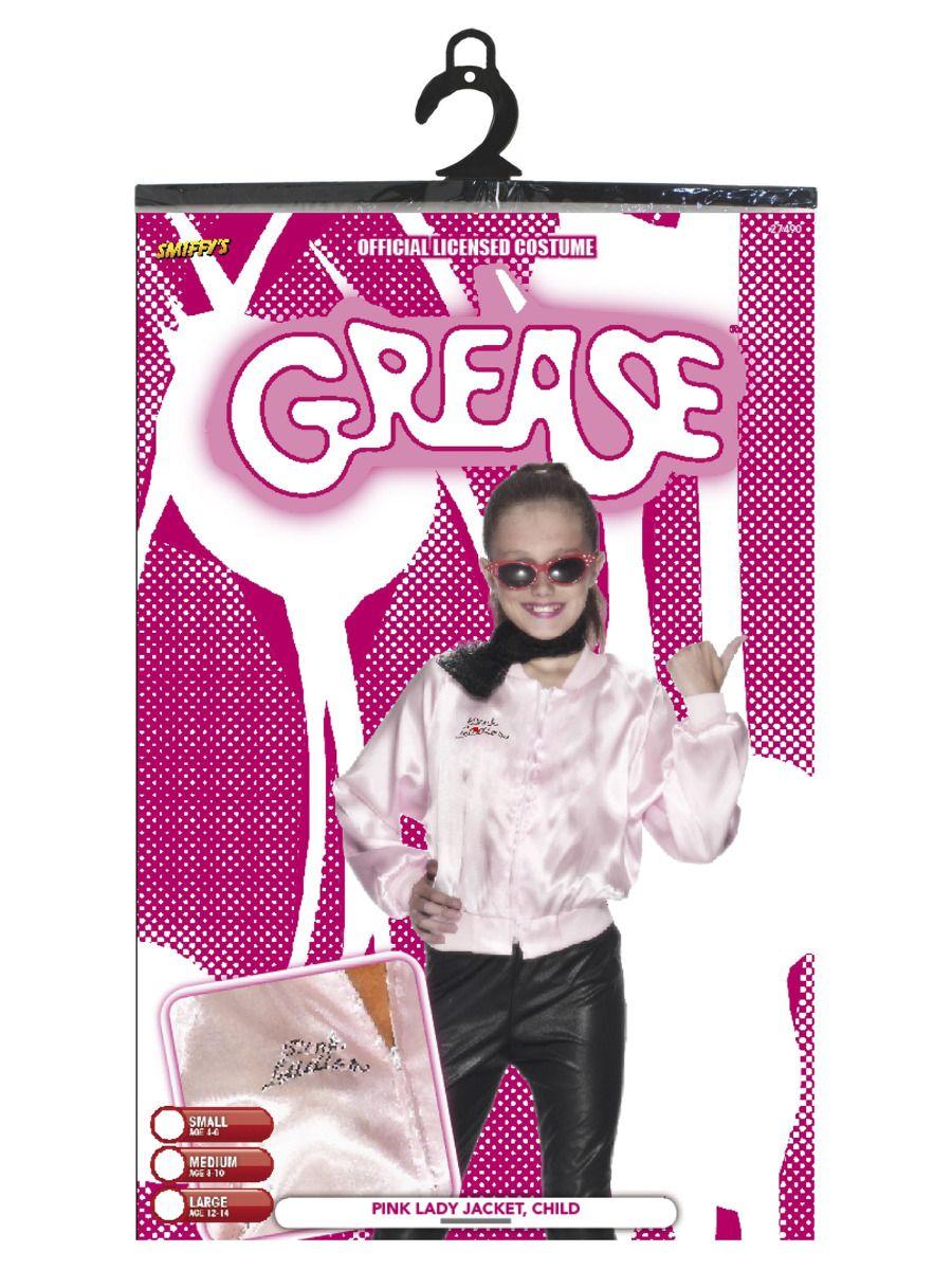 GIRLS/TV & FILM/Grease Toddler Pink Ladies Jacket, Pink