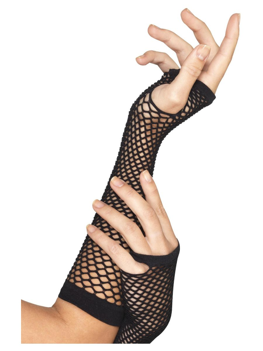 ACCESSORIES/GLOVES & SCARVES/FISHNET GLOVES, LONG