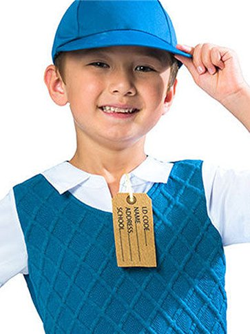 BOYS/HISTORY/Evacuee Boy - Child Costume