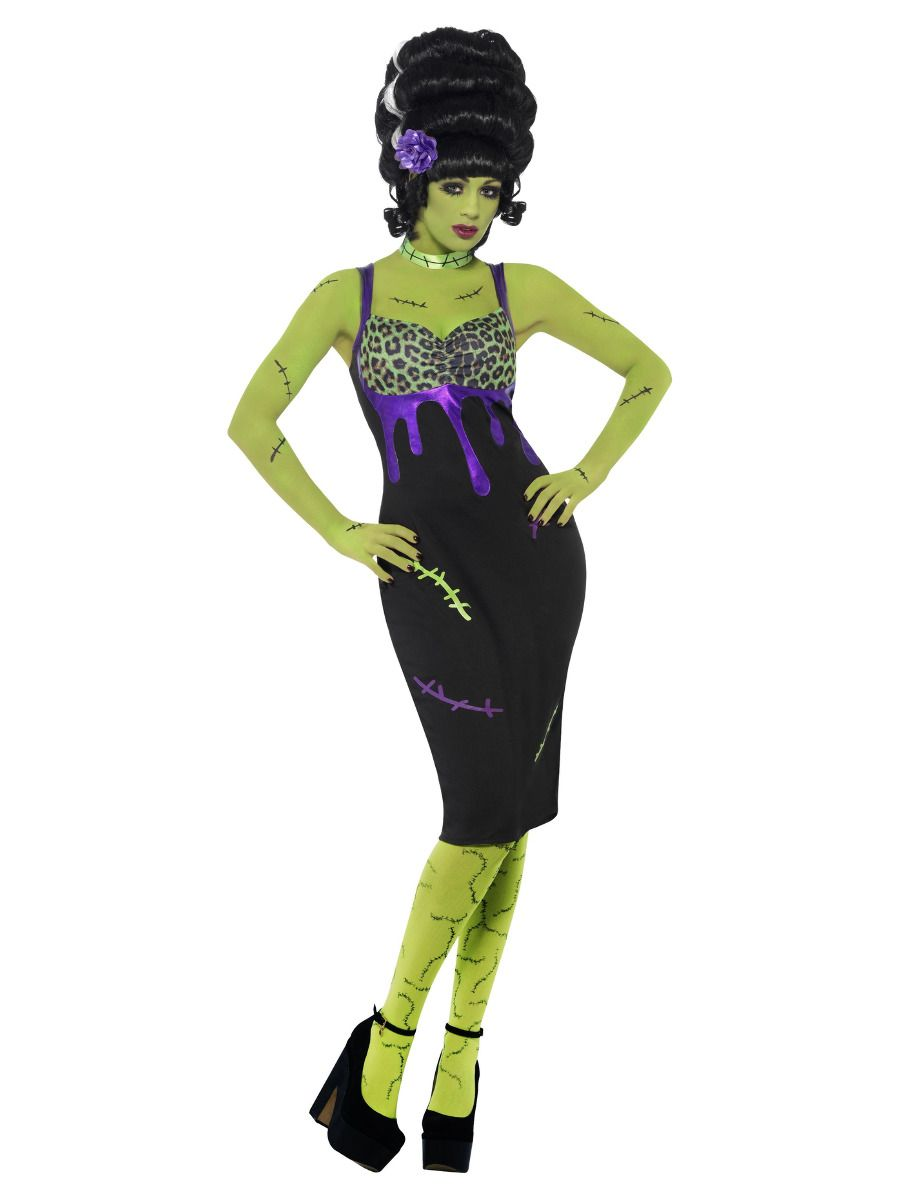 WOMAN/HALLOWEEN/ Pin Up Frankie Costume, Black