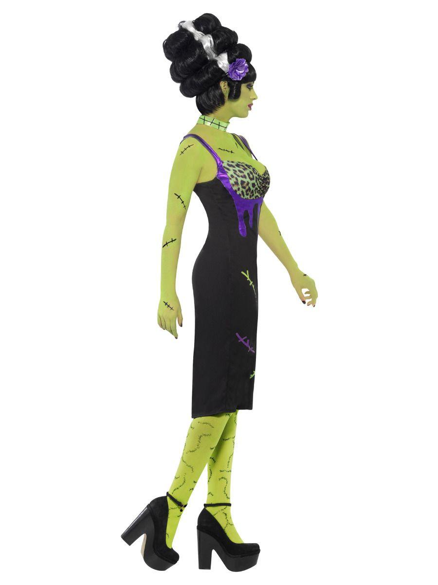 WOMAN/HALLOWEEN/ Pin Up Frankie Costume, Black