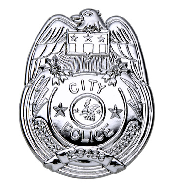 ACCESSORIES/PROPS/POLICE  BADGE