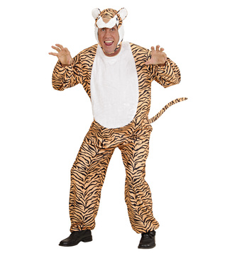 MENS/ANIMALS/ TIGER ANIMAL COSTUME