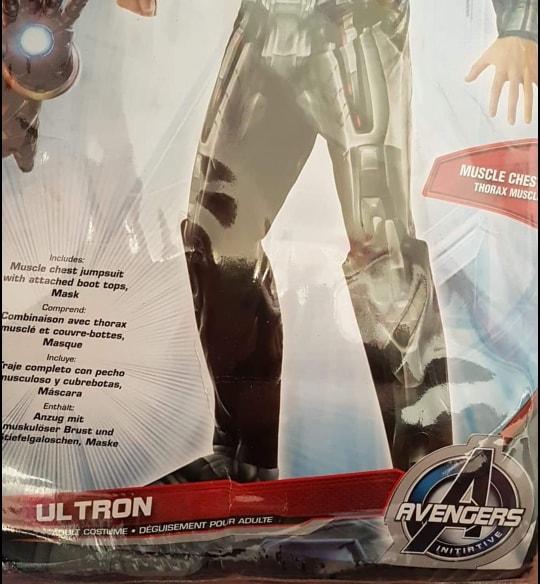 MENS/SUPERHERO/Ultron Deluxe Adult