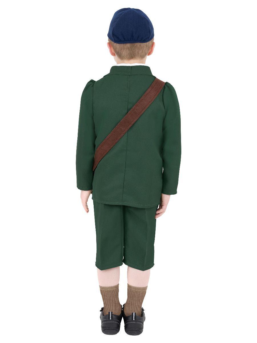 BOYS/HISTORY/World War II Evacuee Boy Costume, Green