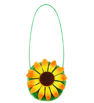 ACCESSORIES/BAGS/SUNFLOWER HANDBAG