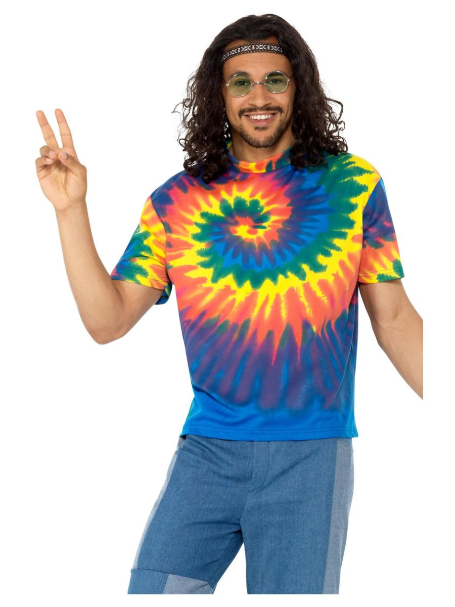 MENS/DECADES/1960S/TIE DYE TSHIRT
