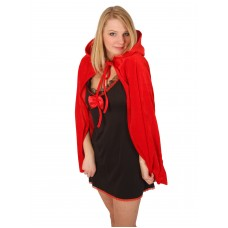 ACCESSORIES/CAPES/ Cloak & Hood Red 75cm