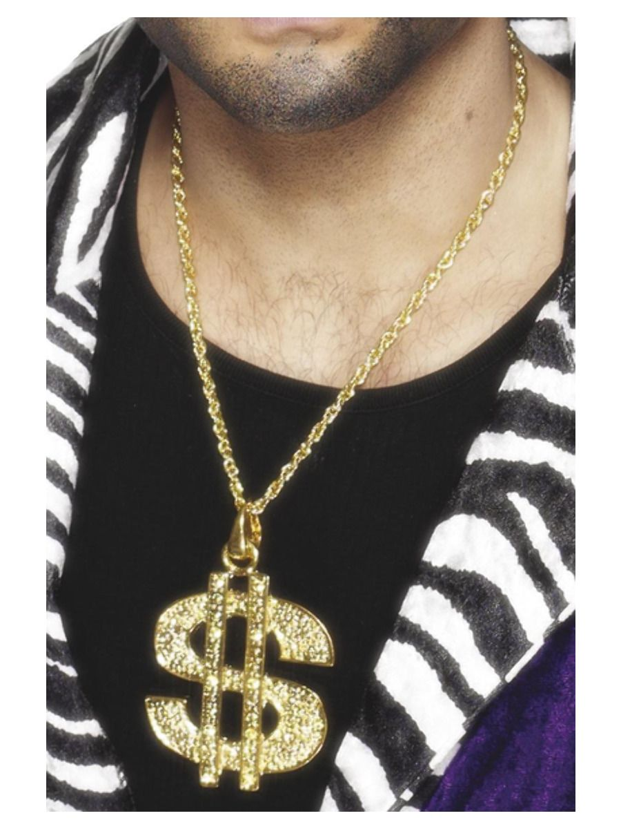 ACCESSORIES/JEWELLERY/DOLLAR SIGN MEDALLION