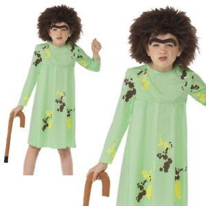 GIRLS/TV & FILM/Roald Dahl Mrs Twit Costume, Green