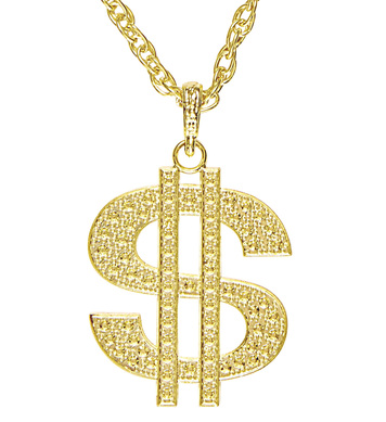 ACCESSORIES/JEWELLERY/GOLD DOLLAR NECKLACE