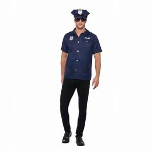 MENS/COPS & ROBBERS/US Cop Costume, Navy