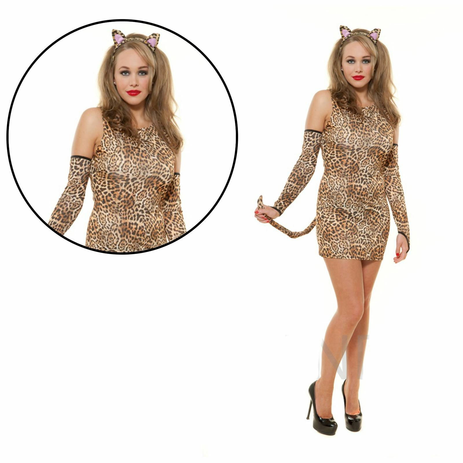 WOMAN/ANIMALS/LEOPARD DRESS