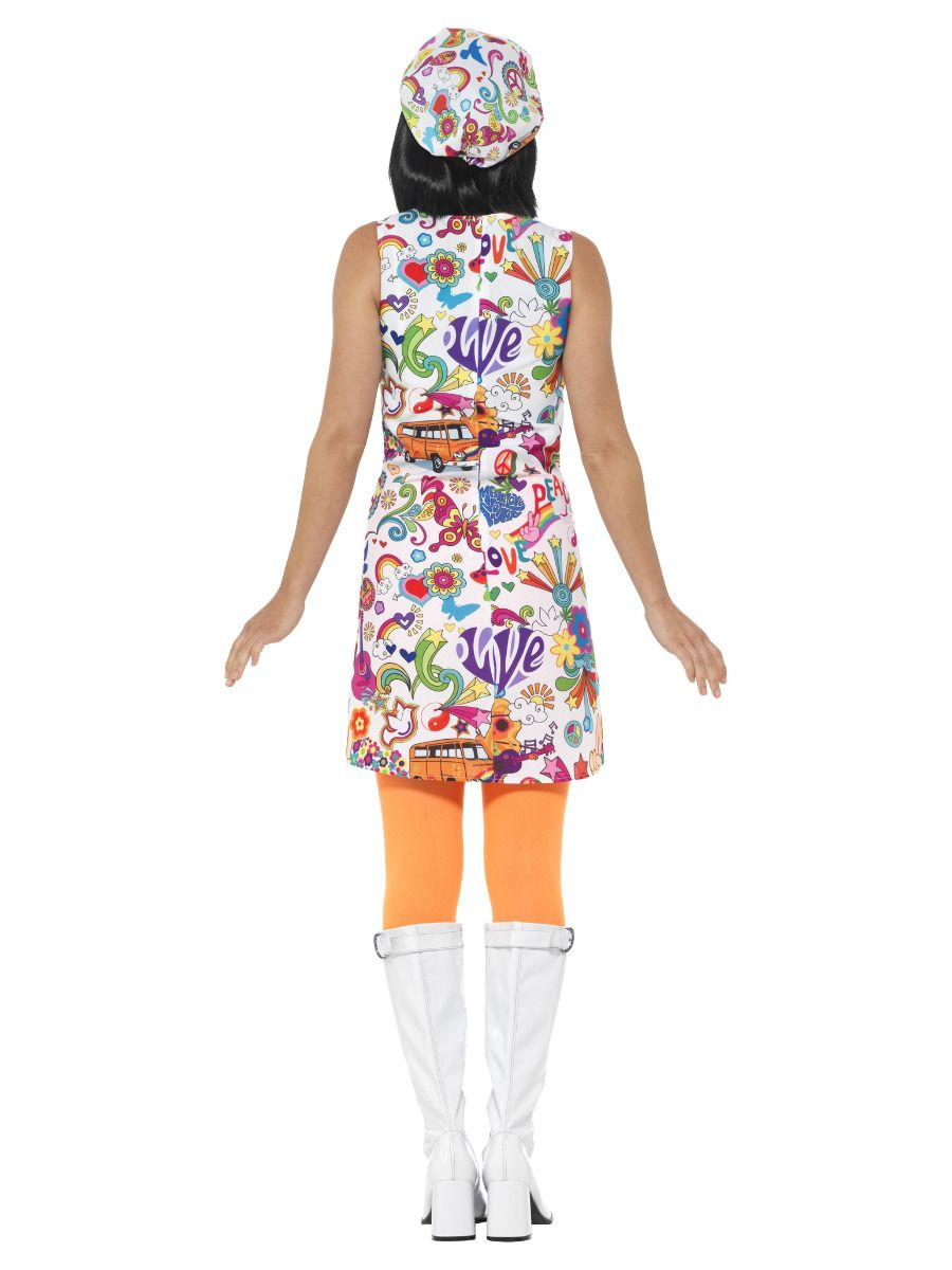WOMAN/DECADES/1960'S/60'S GROOVY CHICK COSTUME