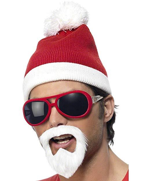 ACCESSORIES/CHRISTMAS/GANGSTER SANTA SET.