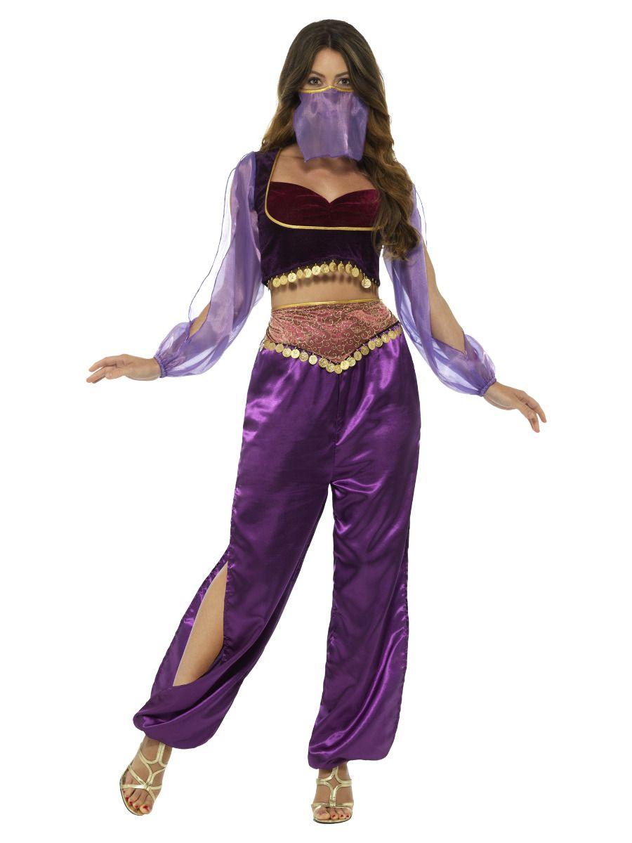 WOMAN/TV & FILM/Arabian Princess Costume, Purple